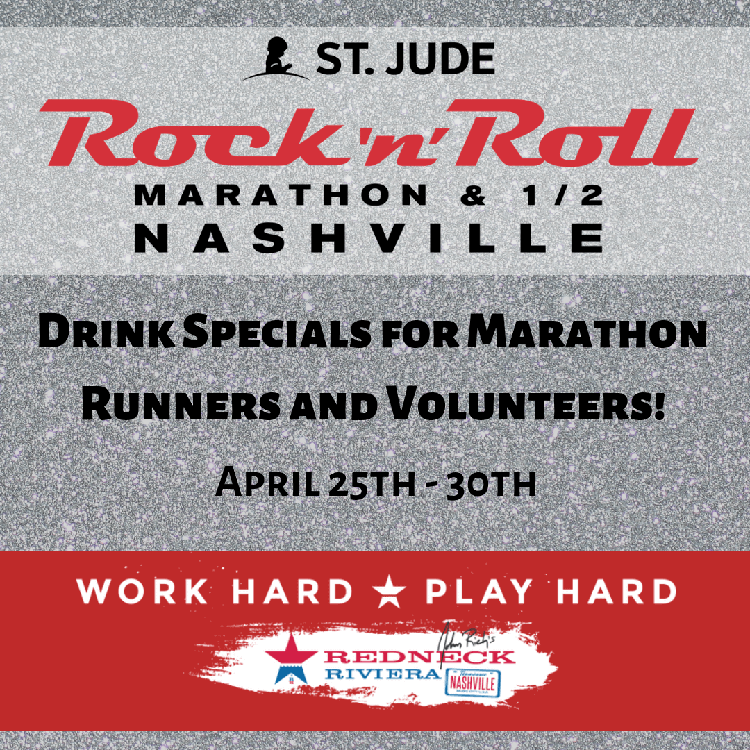 Rock N' Roll Marathon Drink Specials